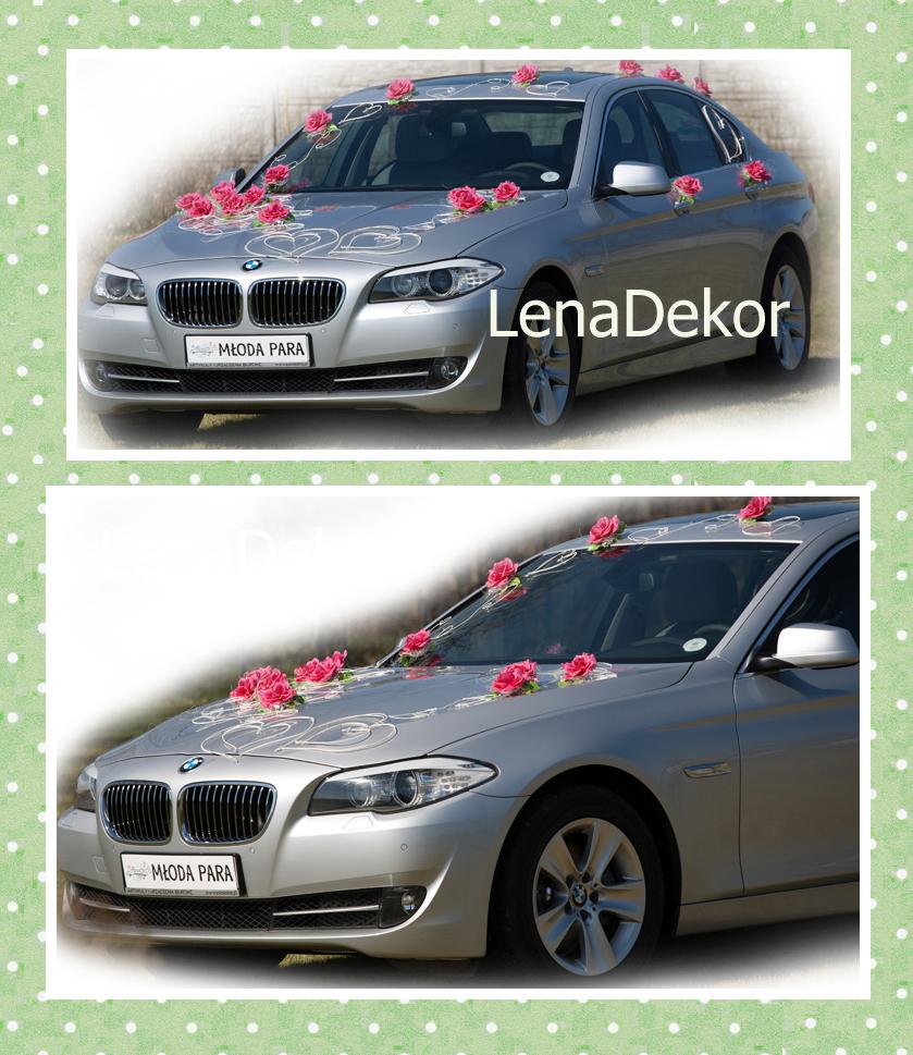 DELIA - komplet do dekoracji samochodu - różne kolory