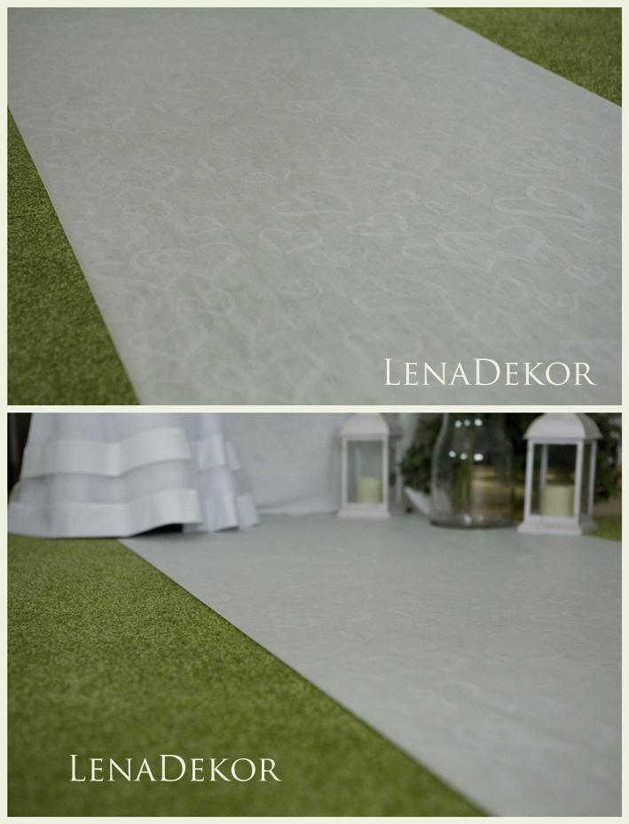 CHODNIK wzór SERCA dywan szer. 90cm dł. 28m