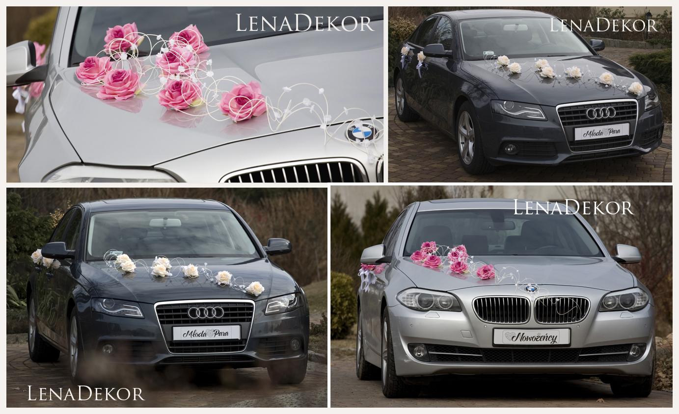 JULKA ecri Komplet do dekoracji samochodu DELUXE