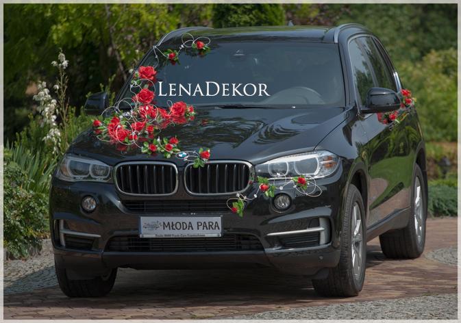 ROSA - kwiatowa dekoracja na samochód