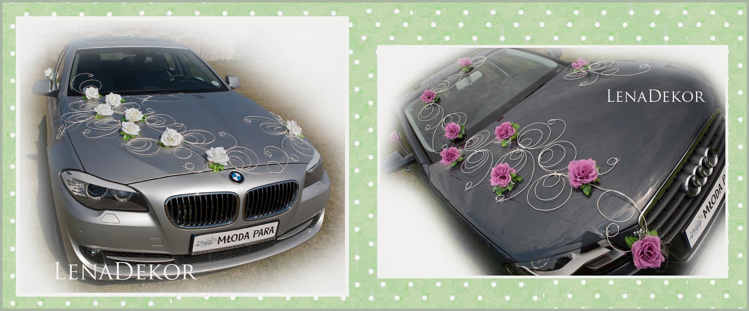 ŚLIMACZKI zestaw do dekoracji samochodu - różne kolory