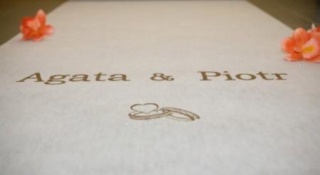 Biały dywan na ślub wypożyczalnia cena