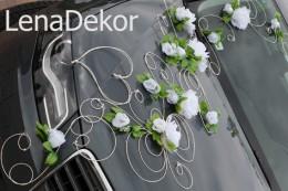 Dekoracje ślubne Na Samochód